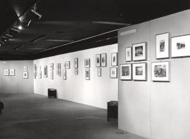 Vista parcial. Exposición Ars Medica, 1978