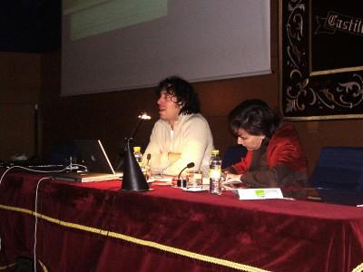 Santiago Ortiz en el curso Arte y Nuevas Tecnologías