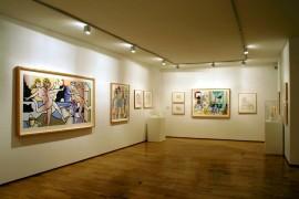 Vista parcial. Exposición Lichtenstein, en proceso, 2005
