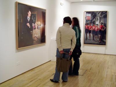 Vista parcial. Exposición Nueva tecnología, nueva iconografía, nueva fotografía Colección del Museo Nacional Centro de Arte Reina Sofía