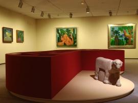 Vista parcial. Exposición Tarsila do Amaral, 2009