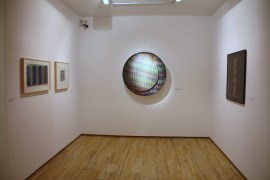 Vista parcial. Exposición Carlos Cruz-Díez: El color sucede, 2009