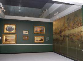 Vista parcial. Exposición Los paisajes americanos de Asher B. Durand (1796-1886), 2010