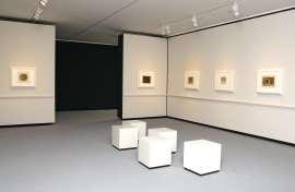 Vista parcial. Exposición Giorgio Morandi: Tres acuarelas y doce aguafuertes, 2010