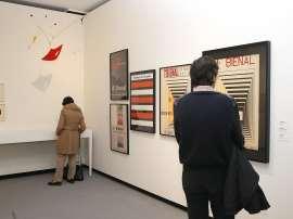 Vista parcial. Exposición América fría. La abstracción geométrica en Latinoamérica (1934-1973), 2011