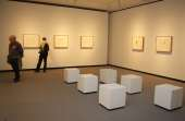 """Vista parcial. Exposición Pablo Picasso y """"La obra maestra desconocida"""" de Honoré de Balzac, 2011"""