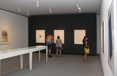 Vista parcial. Exposición Un homenaje a Leo Castelli 9 obras de 9 artistas