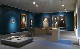 Vista parcial. Exposición La isla del tesoro Arte británico de Holbein a Hockney, 2012