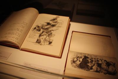 Vista parcial. Exposición Goya: Caprichos y Disparates