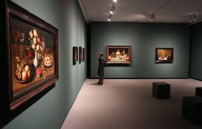 Vista parcial. Exposición De la vida doméstica. Bodegones flamencos y holandeses del siglo XVII