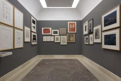 Vista parcial. Exposición La colección expuesta (2014-2015)