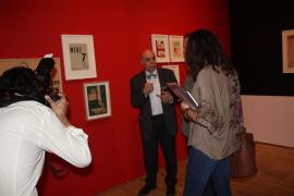 Javier Maderuelo. Exposición Kurt Schwitters. Vanguardia y Publicidad, 2014