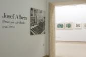 Vista parcial. Exposición Josef Albers: proceso y grabado (1916-1976), 2014
