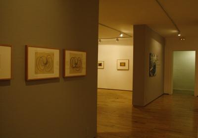 Vista parcial. Exposición Josef Albers: proceso y grabado (1916-1976)