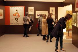 Vista parcial. Exposición El gusto moderno Art déco en París, 1910-1935, 2015