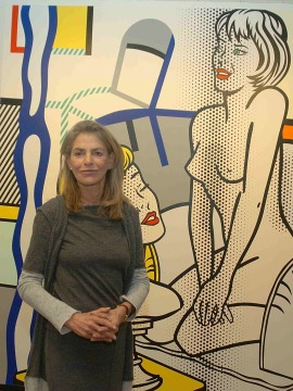 Dorothy Lichtenstein. Exposición Roy Lichtenstein: De principio a fin, 2007
