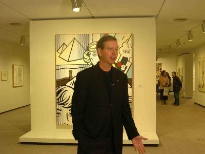 Jack Cowart. Exposición Roy Lichtenstein: De principio a fin