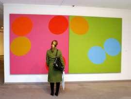 Vista parcial. Exposición MAXImin Tendencias de máxima minimización en el arte contemporáneo, 2008