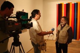 Carlos Cruz-Díez. Exposición Carlos Cruz-Díez: El color sucede, 2009