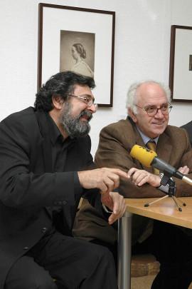 Francisco Caja y Enrique Ordóñez. Exposición Rostros y máscaras Fotografías de la Colección Ordóñez-Falcón, 2005