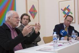 Jakob Bill, Javier Gomá Lanzón y Manuel Fontán del Junco. Exposición max bill: obras de arte multiplicadas como originales (1938-1994), 2015