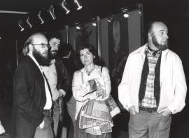 Carmen Laffon. Exposición Francis Bacon, 1978