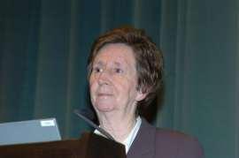Margarita Salas. Conferencia sobre Los virus bacterianos como modelo. De la Biología Molecular a la Biotecnología - Medio siglo de Biología , 2005