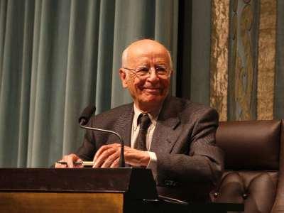 Emilio Lledó Iñigo en diálogo con Manuel Cruz