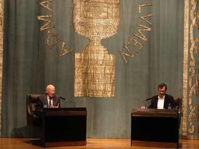 Emilio Lledó Iñigo y Manuel Cruz