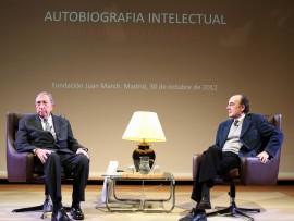 Juan Navarro Baldeweg y Francisco Calvo Serraller. , 2012