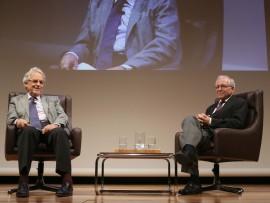 Santos Juliá y José Álvarez Junco. En Diálogo con Santos Juliá, 2014