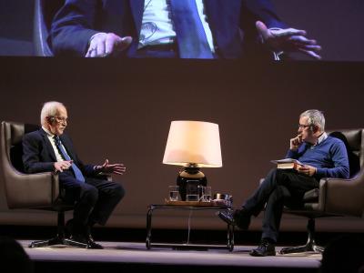 Antonio Escohotado y Alfonso Armada. En diálogo con Alfonso Armada