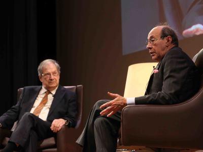 José Carlos Mainer y Francisco Rico. En diálogo con José-Carlos Mainer
