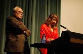 Román Gubern y Lucía Franco. Conferencia sobre El demonio y la carne - Melodrama y star-system, 2010