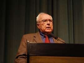 Román Gubern. Conferencia sobre El demonio y la carne - Melodrama y star-system, 2010