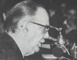 Camilo José Cela. Conferencia sobre Mesa redonda final - Novela española contemporánea , 1975