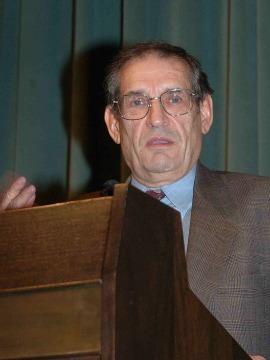 Gabriel Tortella. Conferencia sobre La fuente ilustrada De la Ilustración a la Unión: economía, democracia y libertad en la conciencia europea, 2007