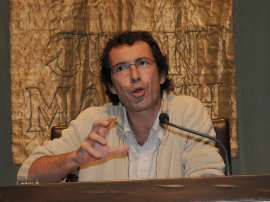 Jordi Gracia. Conferencia sobre La consolidación de un canon - Las máscaras de un género. Literatura y autobiografía en la España contemporánea, 2009