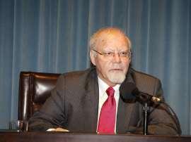 José Luis Abellán. Conferencia sobre El pensamiento español: reflejo del proceso de normalización - El pensamiento español actual , 2009