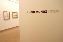 Vista parcial de la exposición Lucio Muñoz Íntimo, 2003