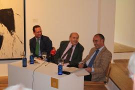 Manuel Fontán del Junco, Gustavo Torner de la Fuente y Alfonso de la Torre. Conferencia sobre Retrato y Memoria de Fernando Zóbel, 2009
