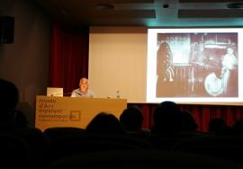 Miquel Seguí en el curso sobre Fotografía. Documentalismo y fotografía, 2004