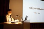 Carmen Laffon. Conferencia Con motivo de la Exposición Morandi, 2011