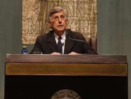José Enrique Ruiz-Doménec. Conferencia sobre El amor cortés o el más literario de los amores - Cuatro emociones , 2011
