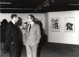 Xavier Fourcade y José Luis Yuste Grijalba. Exposición Williem de Kooning Obras recientes, 1979