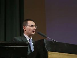 Enrique García Hernán. Conferencia sobre La cara oculta de Ignacio de Loyola: el mediador - Españoles eminentes , 2012