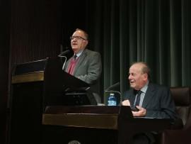 Ricardo García Cárcel y Bartolomé Bennassar. Conferencia sobre Encuentros que enmarcan la vida de Velázquez - Velázquez: su vida, su obra, su tiempo , 2012