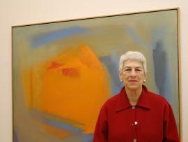 Harriet Vicente. Exposición Esteban Vicente: Gesto y color, 2004