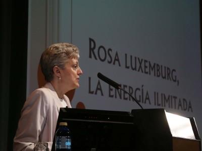 Anna Caballé Masforroll. Conferencia sobre Rosa Luxemburg, la energía ilimitada - Singulares