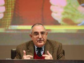 Joaquín Sanmartín. En conferencia sobre David y el Reino - Figuras del Antiguo y Nuevo Testamento , 2014